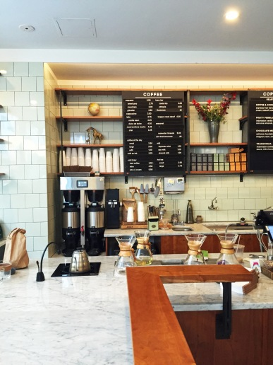 Manual Brew Station at City Center's Dolcezza